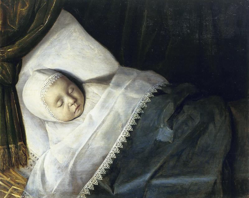 Anonymous - A Child of the Honigh Family on its Deathbed