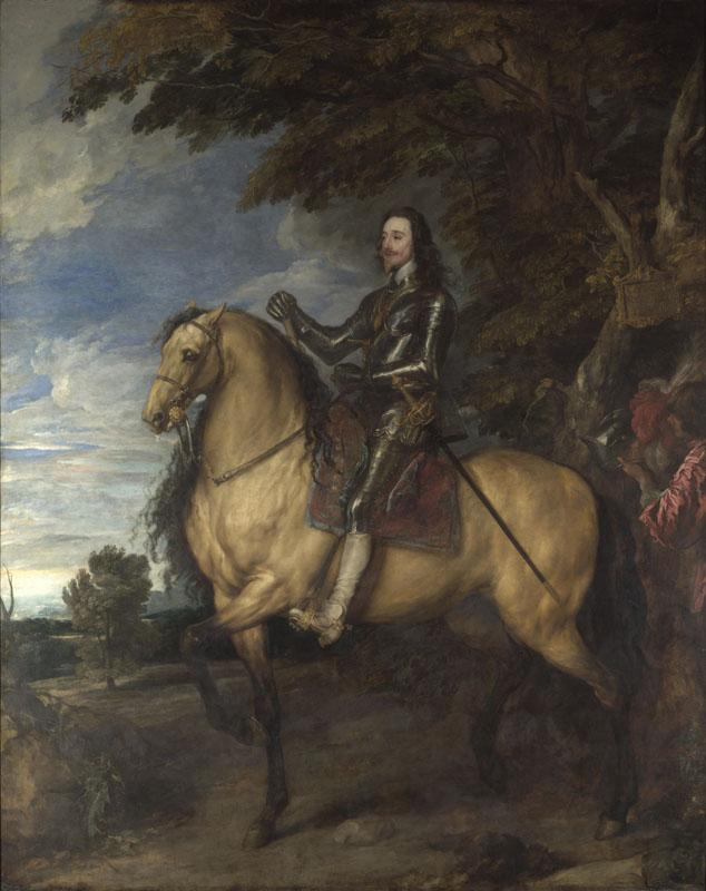 Anthony van Dyck - Equestrian Portrait of Charles I