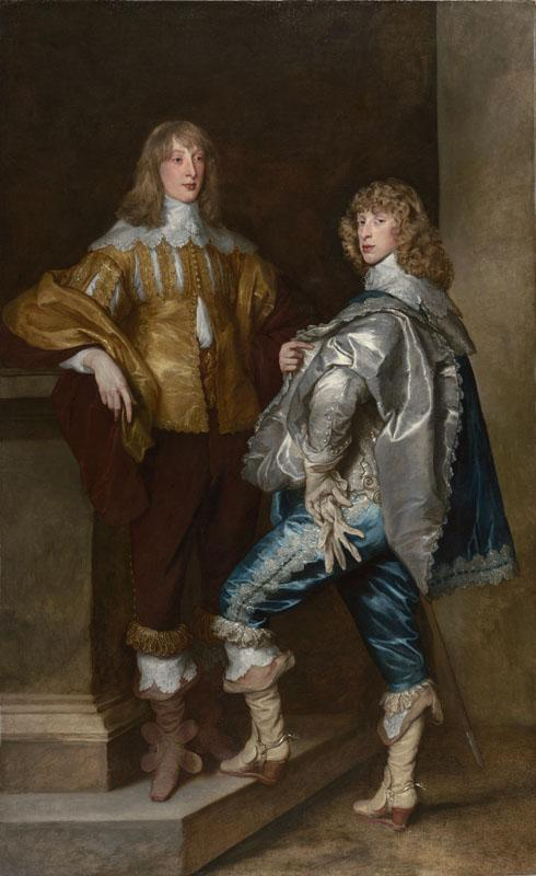 Anthony van Dyck - Lord John Stuart and his Brother, Lord Bernard Stuart