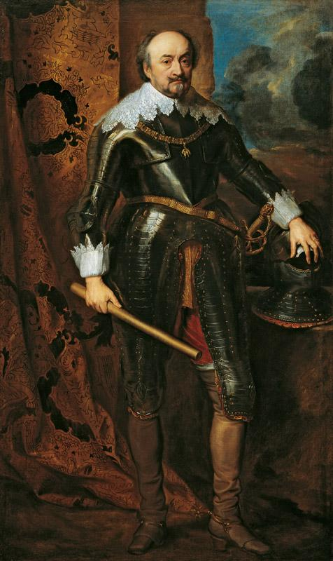 Anthony van Dyck - Portrait of Johann VIII, Count of Nassau-Siegen, c. 1616-1617