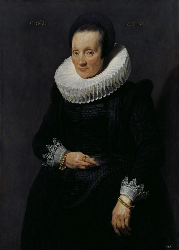 Anthony van Dyck - Portrait of a Woman, 1618