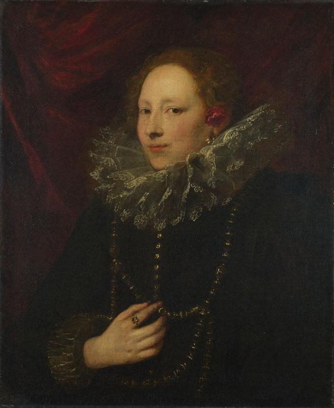 Anthony van Dyck - Portrait of a Woman