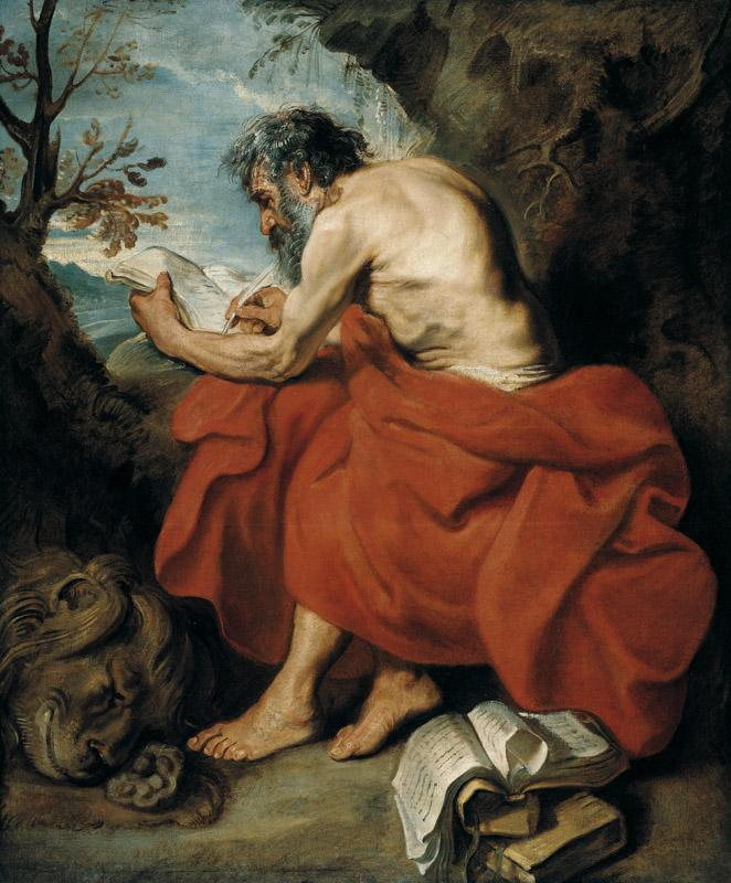 Anthony van Dyck - St Jerome, c. 1615-1616