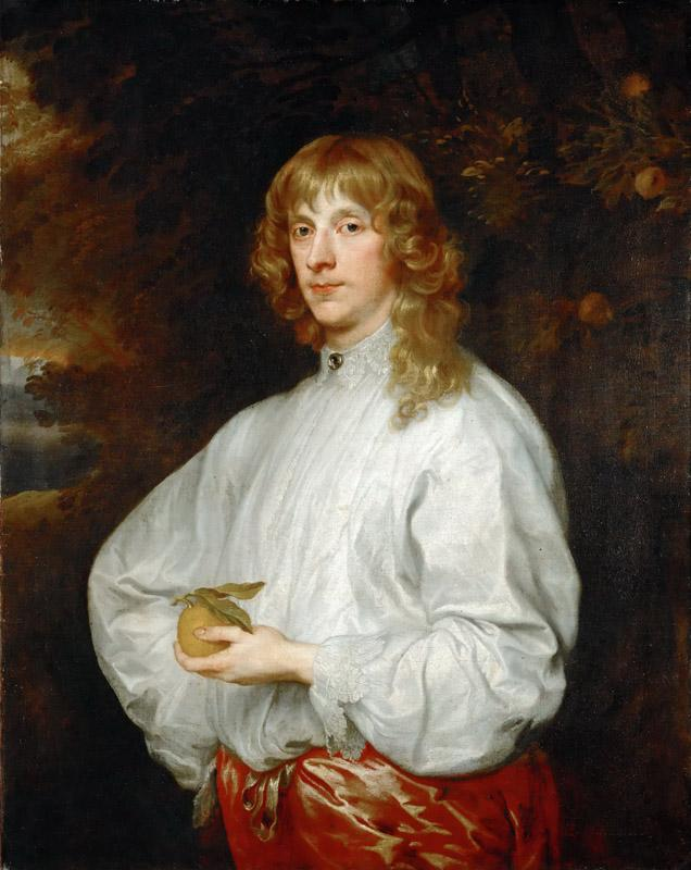 Anthony van Dyck -- James Stuart, 4th Duke of Lennox and 1st Duke of Richmond