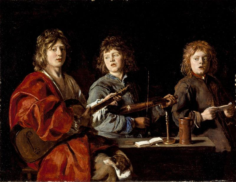Antoine Le Nain - Three Young Musicians