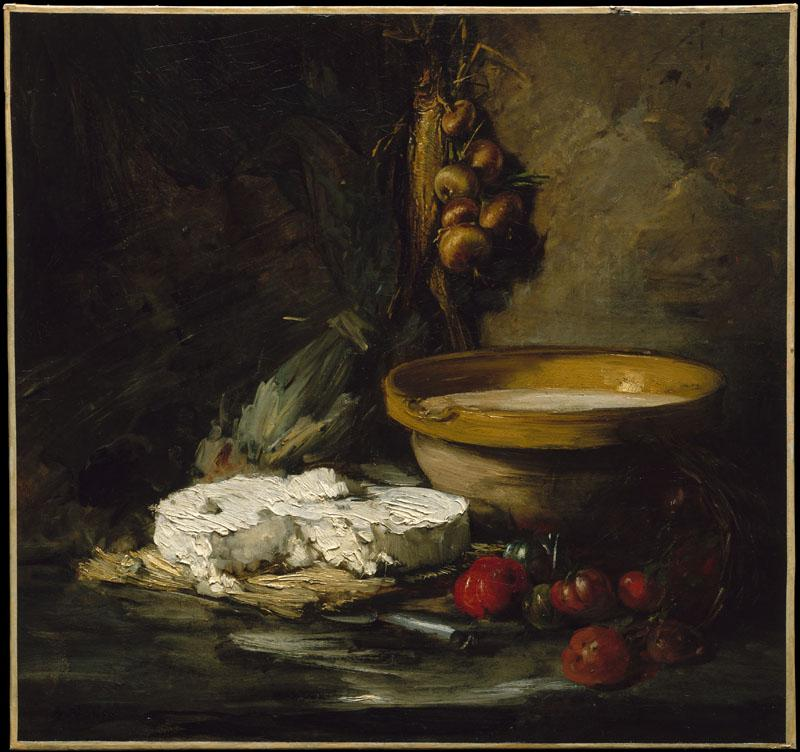 Antoine Vollon--Still Life with Cheese