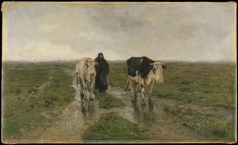 Anton Mauve--Changing Pasture