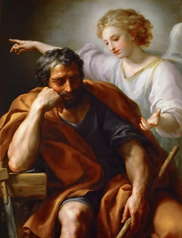 Anton Raphael Mengs -- Dream of Saint Joseph
