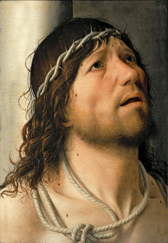 Antonello da Messina (c. 1430-1479) -- Christ at the Flagellation