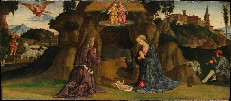 Antoniazzo Romano--The Nativity