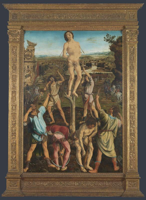 Antonio del Pollaiuolo and Piero del Pollaiuolo - The Martyrdom of Saint Sebastian