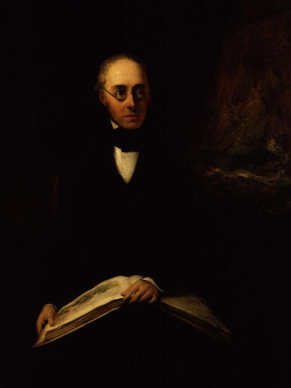 Antony Vandyke Copley Fielding by Sir William Boxall