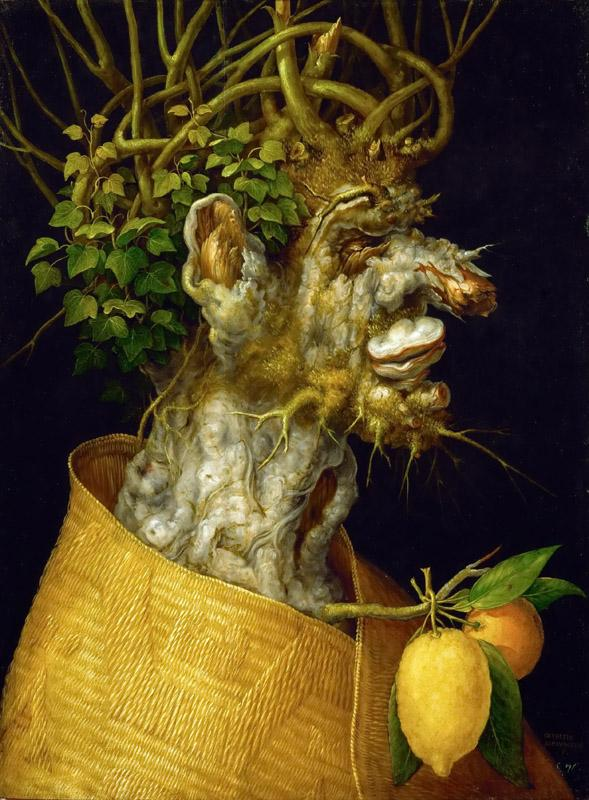 Arcimboldo,Giuseppe -- Winter, allegory