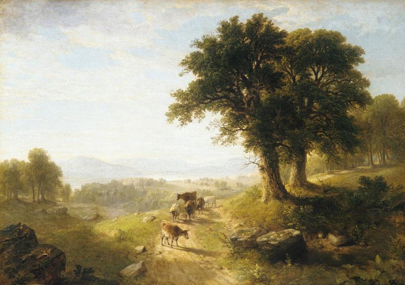 Asher Brown Durand--River Scene