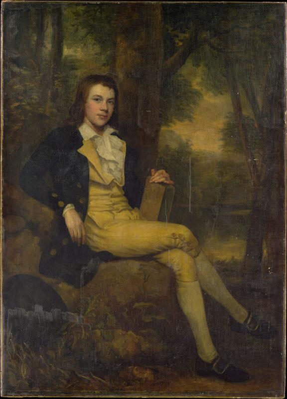 Attributed to Ralph Earl--Master Rees Goring Thomas