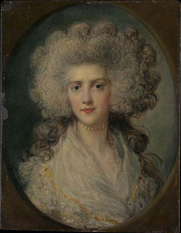 Attributed to Richard Gainsborough Dupont--Mrs