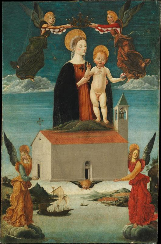 Attributed to Saturnino Gatti--The Translation of the Holy House of Loreto