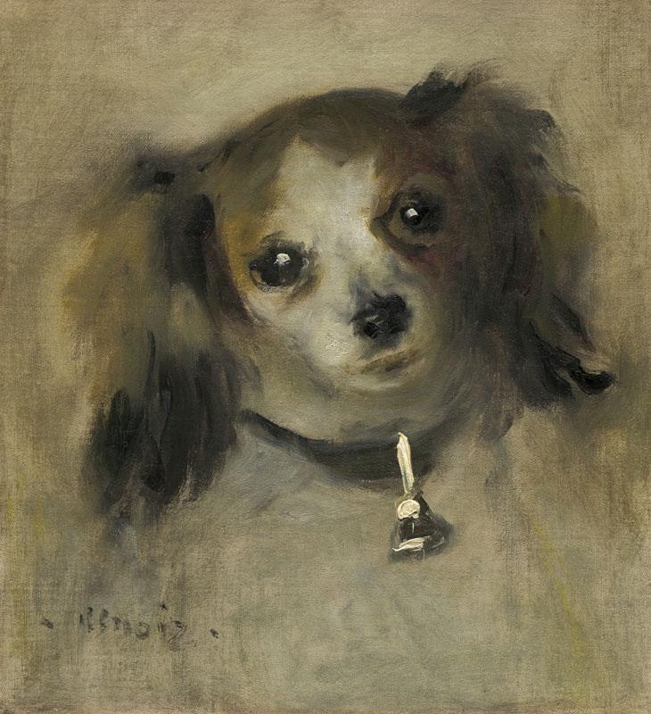Auguste Renoir - Head of a Dog