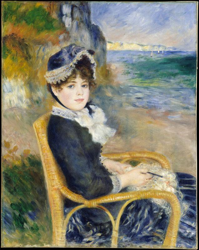 Auguste Renoir -By the Seashore