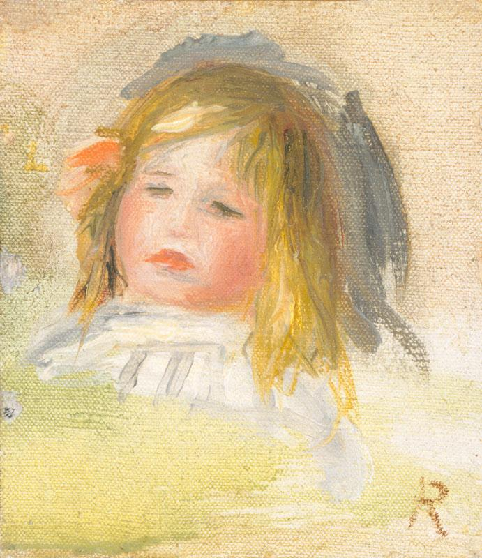 Auguste Renoir -Child with Blond Hair