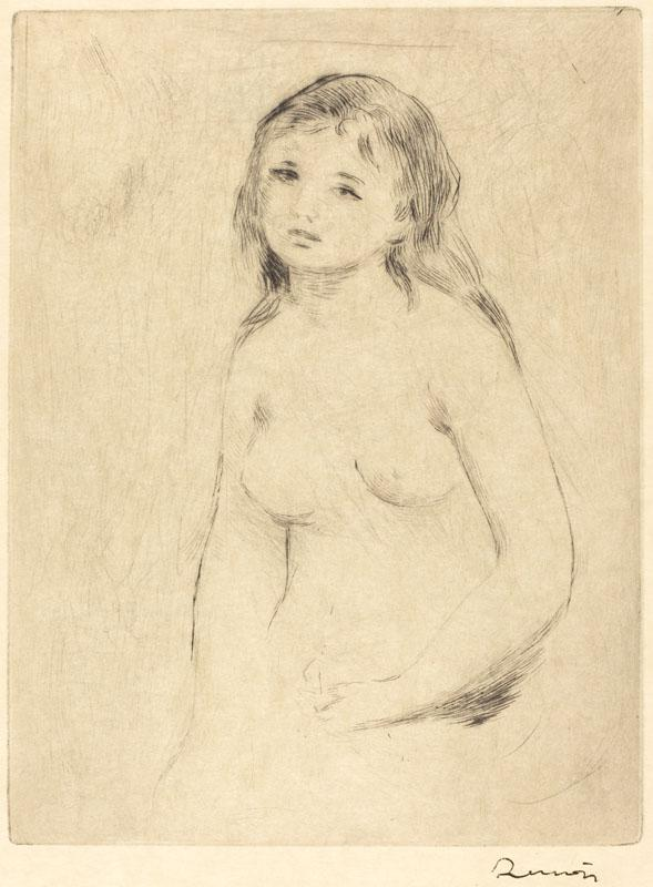 Auguste Renoir -Study for a Bather