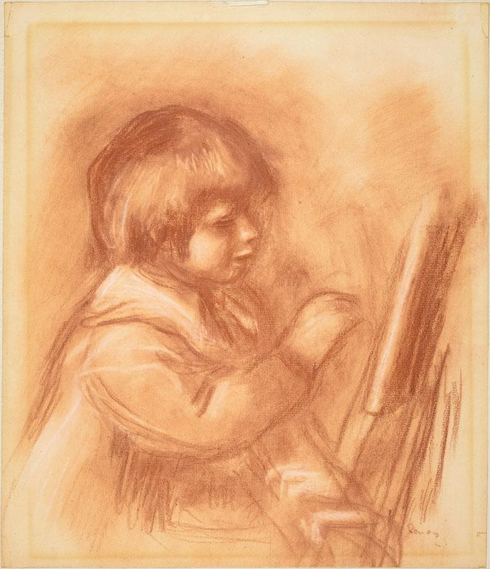 Auguste Renoir -The Artist Son Claude or Coco
