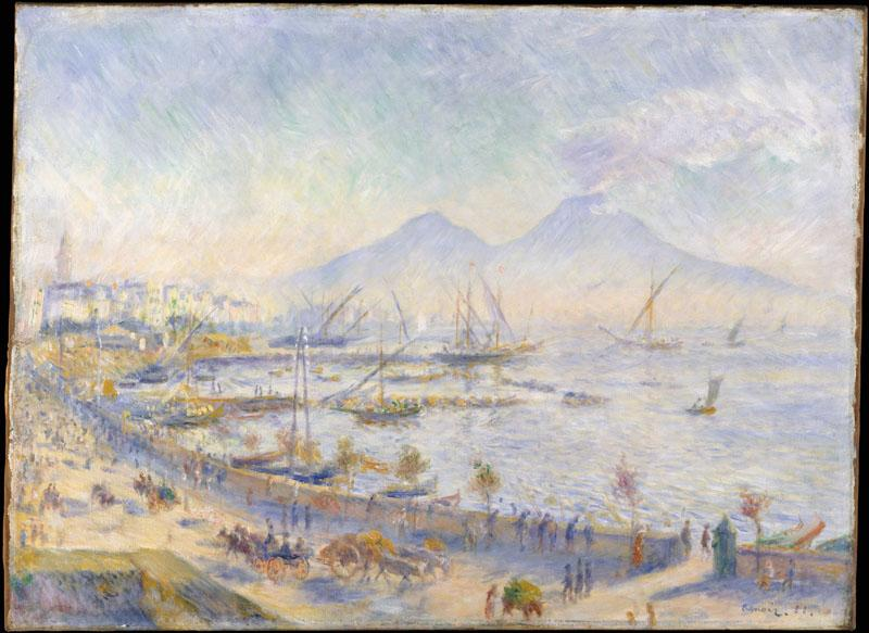 Auguste Renoir--The Bay of Naples