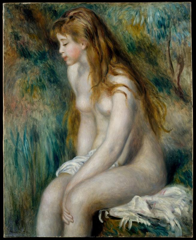 Auguste Renoir--Young Girl Bathing