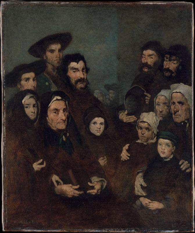 Augustin-Theodule Ribot--Breton Fishermen and Their Families