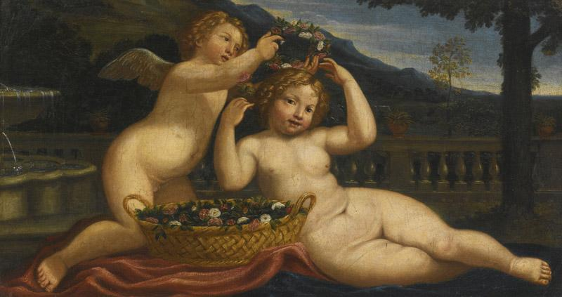 BOLOGNESE-PUTTO CROWNING