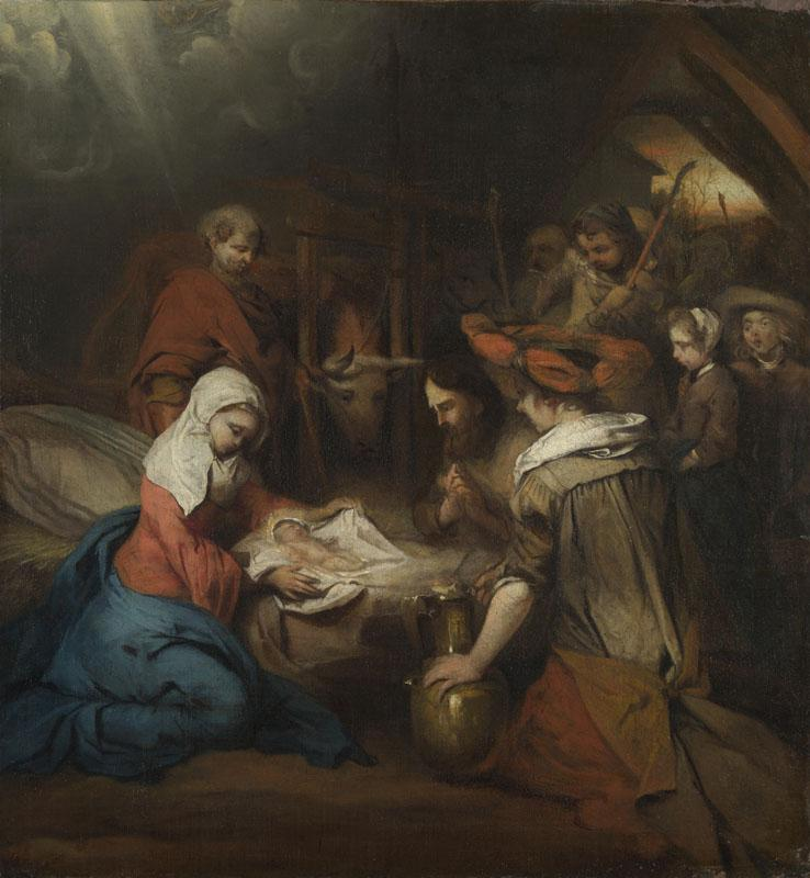 Barent Fabritius - The Adoration of the Shepherds