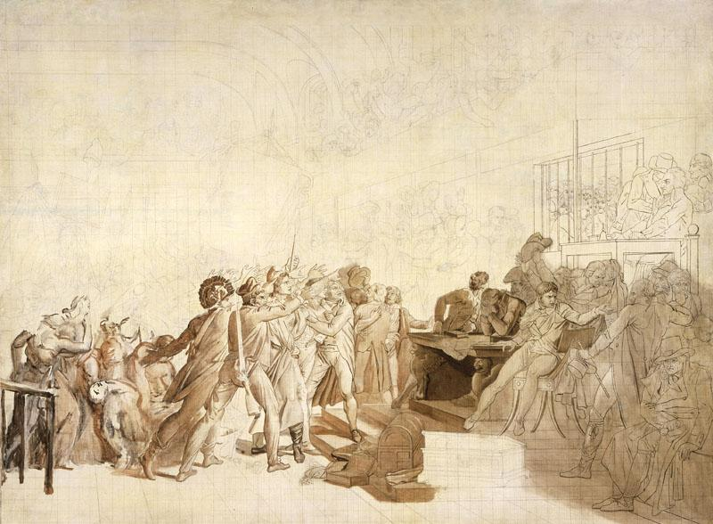 Baron Francois-Pascal-Simon Gerard - The 10th of August, 1792
