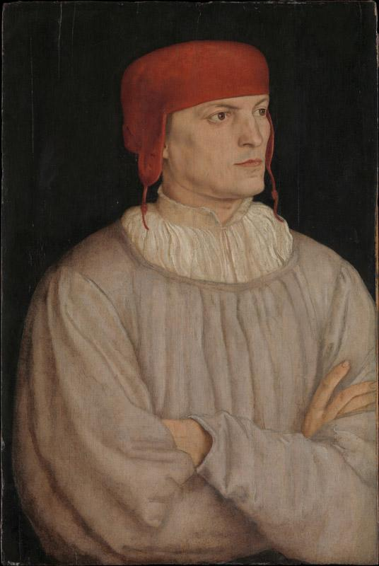 Barthel Beham--Chancellor Leonhard von Eck (1480-1550)