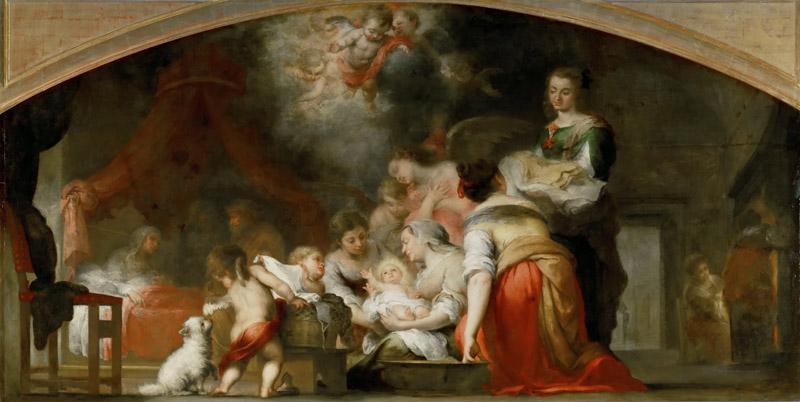 Bartolome Esteban Murillo -- Birth of the Virgin