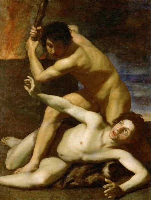 Bartolomeo Manfredi -- Cain killing his brother