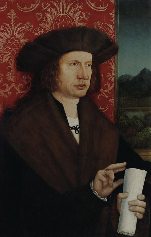 Bernhard Strigel - Portrait of Dr Georg Thannstetter, c. 1515