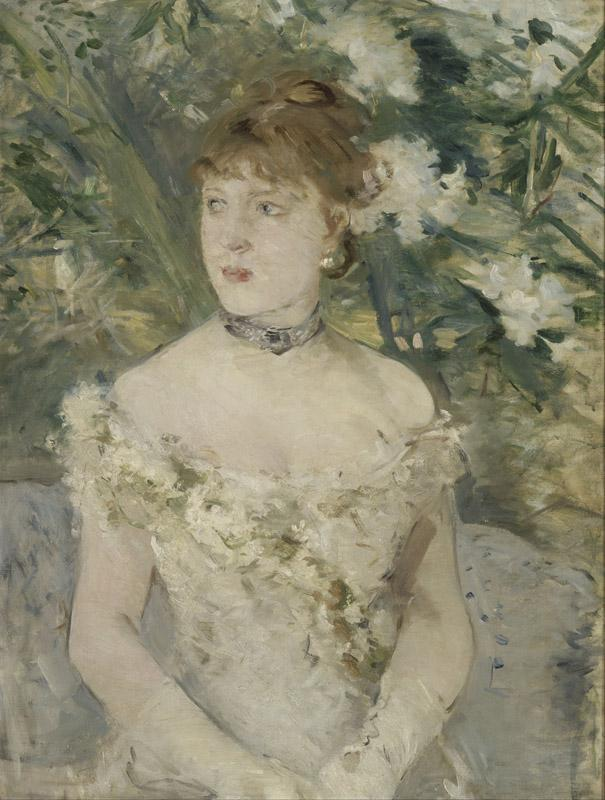 Berthe Morisot - Young Girl in a Ball Gown