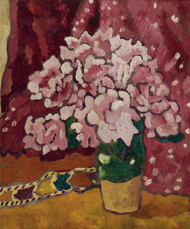 Bouquet of Pink Flowers, 1939