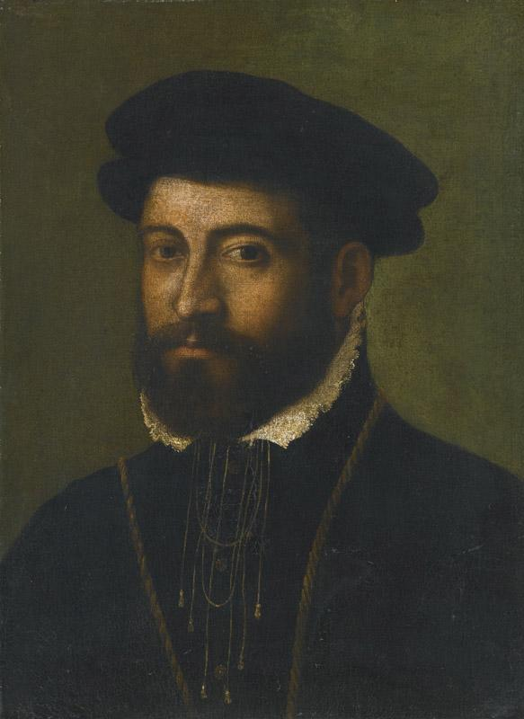 CIRCLE OF NICOLO-PORTRAIT OF A BEARDED MAN