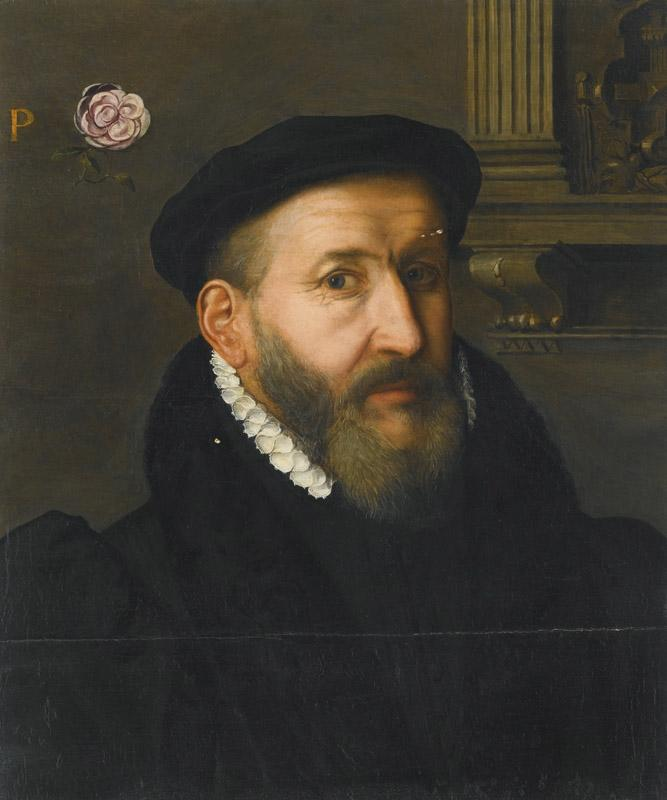 CIRCLE OF WILLEM KEY-PORTRAIT OF A GENTLEMAN