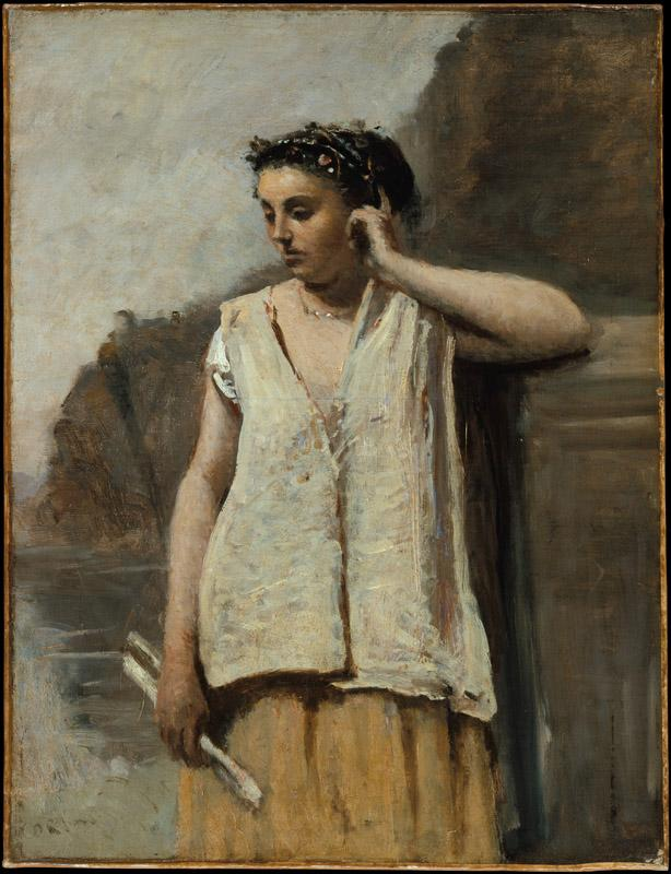 Camille Corot--The Muse History
