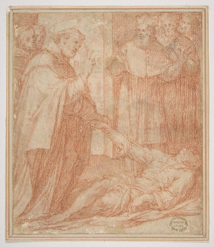 Camillo Procaccini--Saint Francis of Assisi Resuscitating a Dead Youth