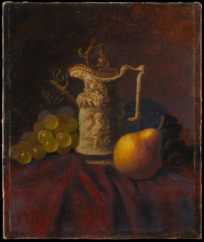 Carducius Plantagenet Ream--Still Life with Ewer and Fruit
