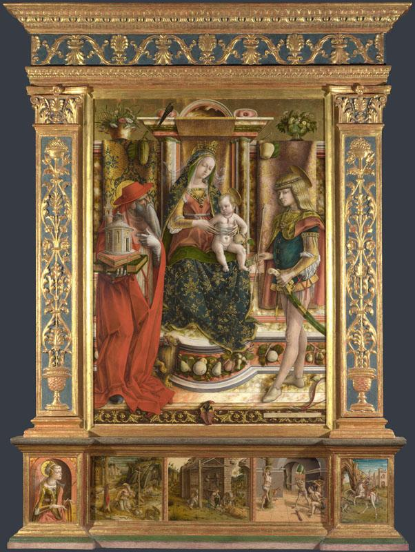 Carlo Crivelli - Altarpiece from S