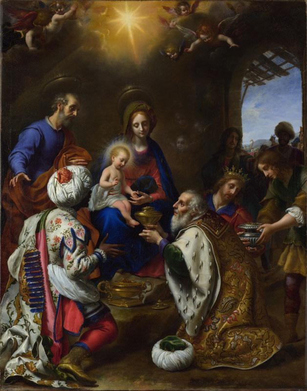 Carlo Dolci - The Adoration of the Kings