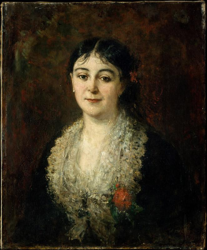 Carolus-Duran--Portrait of a Woman
