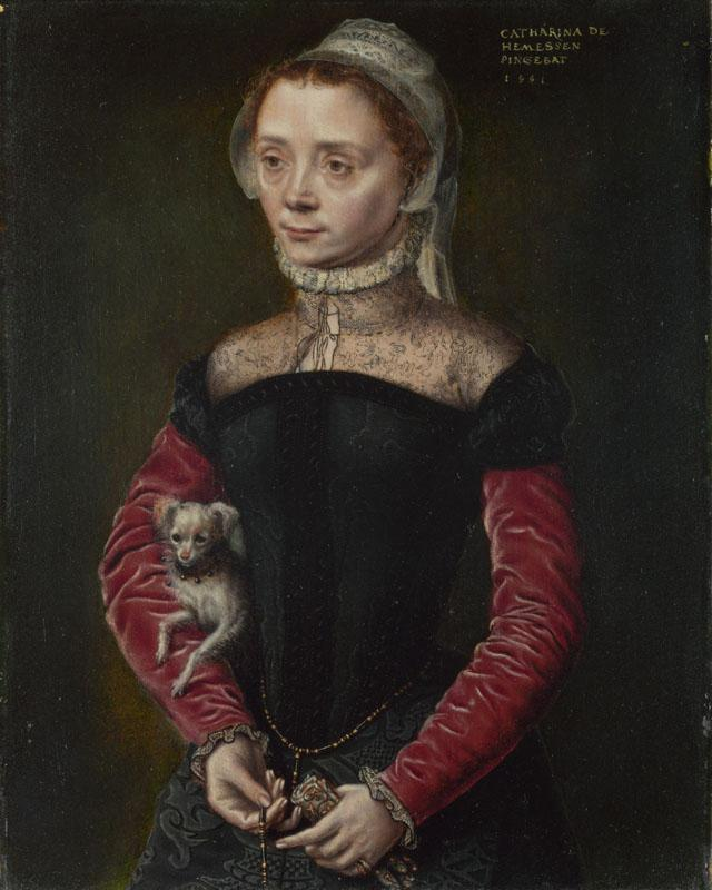 Catharina van Hemessen - Portrait of a Lady
