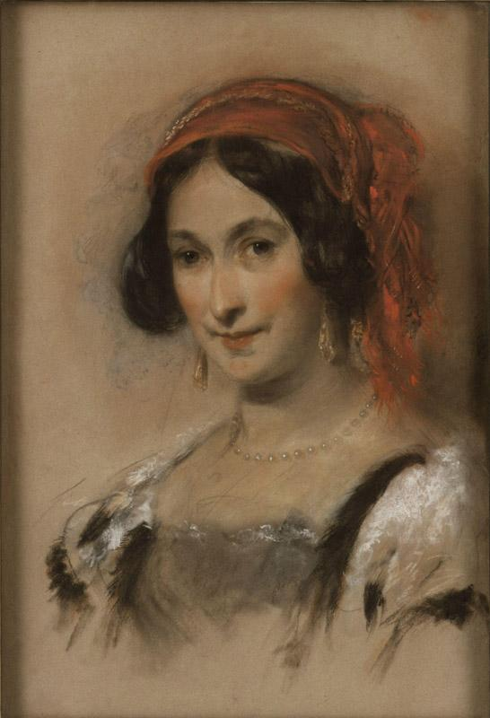 Catherine, Lady Stepney by John Hayter