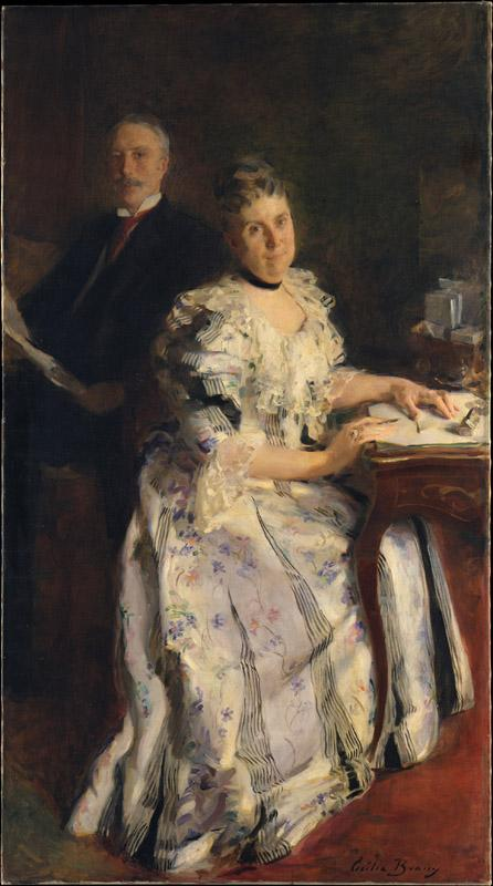 Cecilia Beaux--Mr. and Mrs
