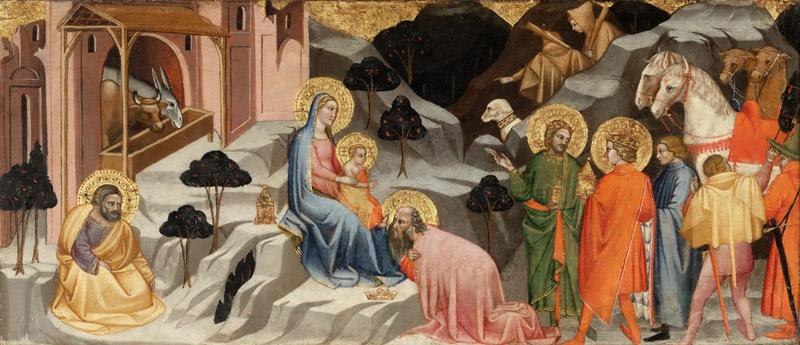 Cenni di Francesco (Cenni di Francesco Cenni di Ser Cenni), Italian  first documented 1369, died 1414 -- Adoration of the Magi